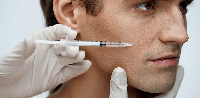 Injection d'acide hyaluronique pour les hommes à Paris 16 | Dr Chouquet